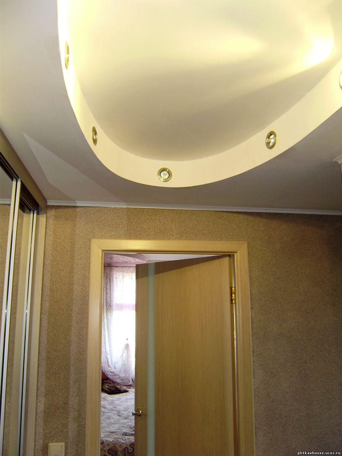 Потолки из гипсокартона своими руками фото прихожая
